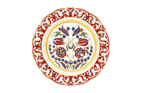 Rengel duvar tabağı