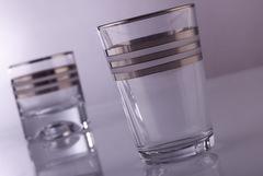Su Bardak Takımı MÇY Çizgili Platin