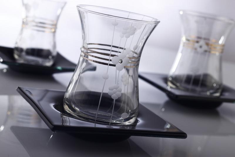 Çay Takımı Öznur Platin