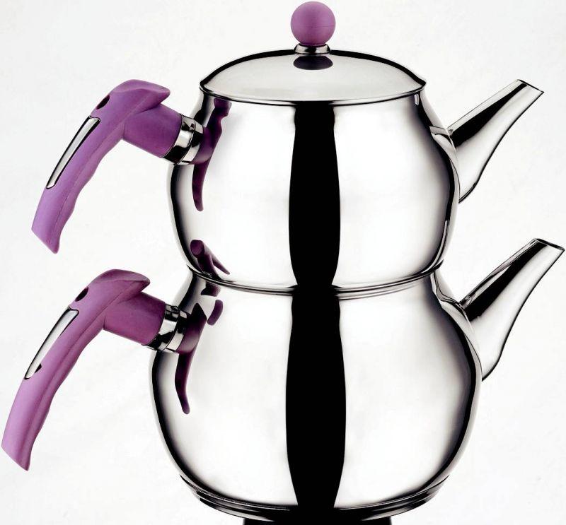 Mini Tuğra Çaydanlık Takımı