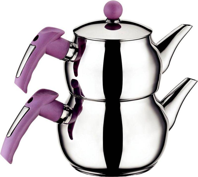 Orta Tuğra Çaydanlık Takımı