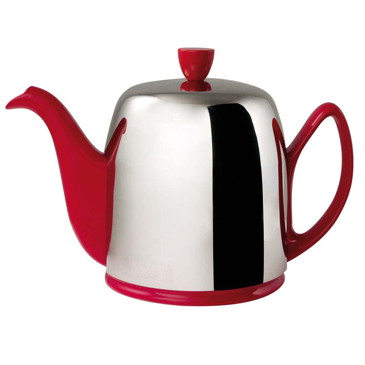 Guydegrenne Salam Model Kırmızı Porselen Çay 90 Cl